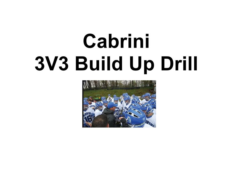 Article: Cabrini