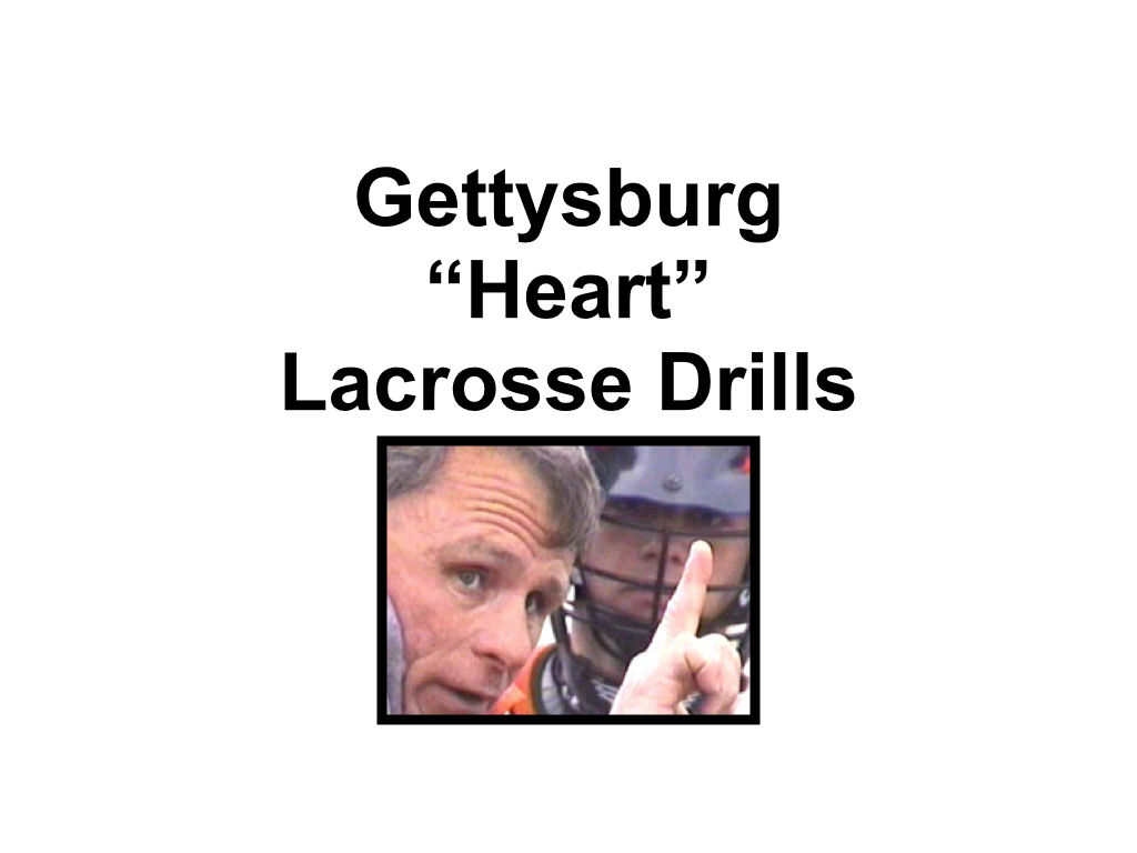 Article: Heart Drills From Gettysburg