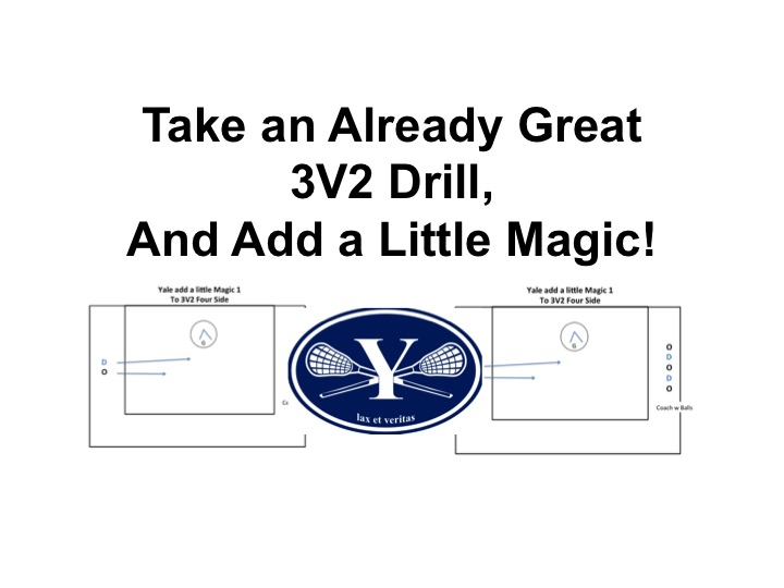 Article: Yale Add a Little Magic to a Great 3V2
