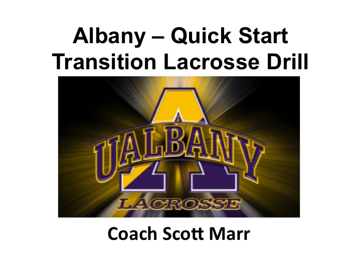 Article:  Albany Quick Start Transition Drill