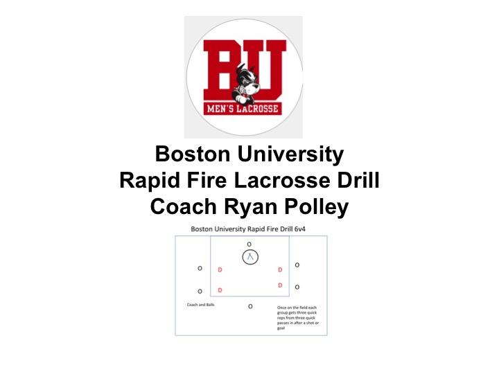 "Article:  ""Rapid Fire""  Boston U Coach Ryan Polley"