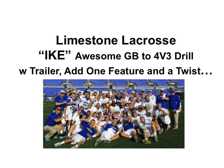 "Article:  Limestone Amazing ""IKE"" 4V3 Add One w a Twist…"