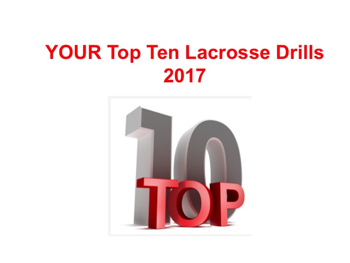 Article: Top Ten Lacrosse Drills you like in 2017