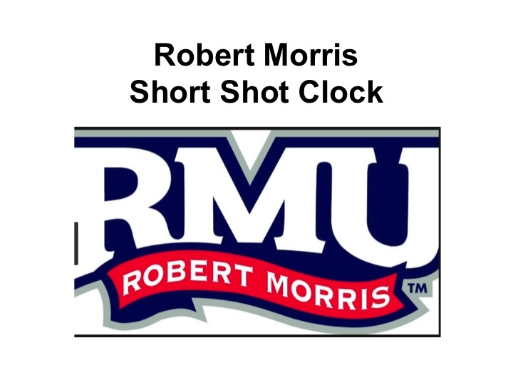 Article:  Short Shot Clock, Robert Morris