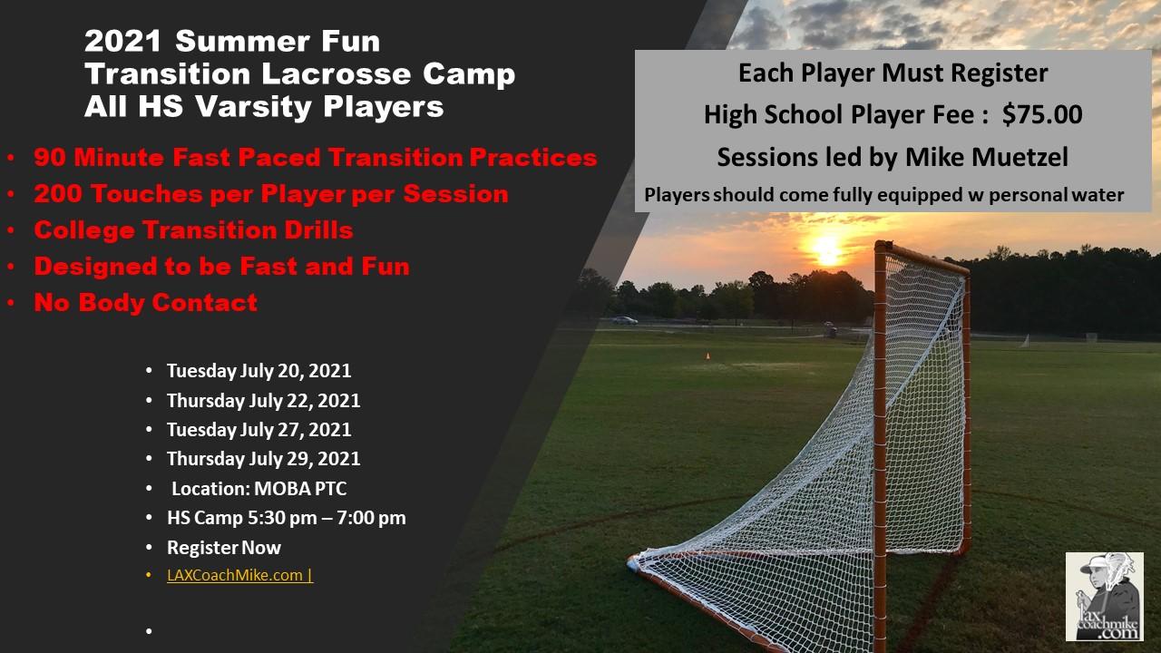 Summer Fun Lacrosse Camp